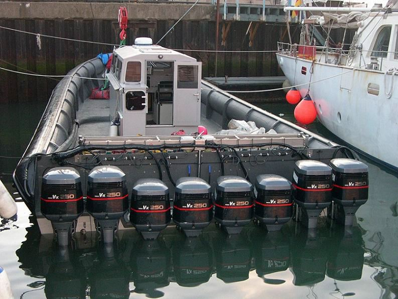photo of a high speed boat used to smuggle drugs truth