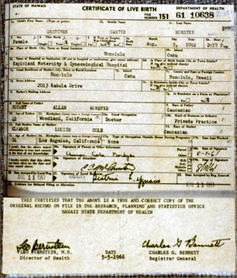 Questions About President Obama Long Form Birth Certificate Truth