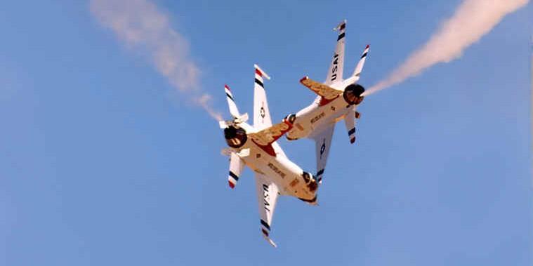 Near disaster of the Air Force Thunderbirds-Fiction!