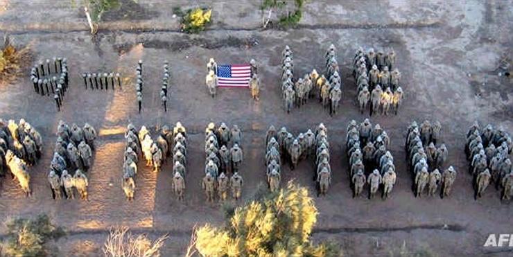 Baker Company photo tribute to 9-11-Truth!
