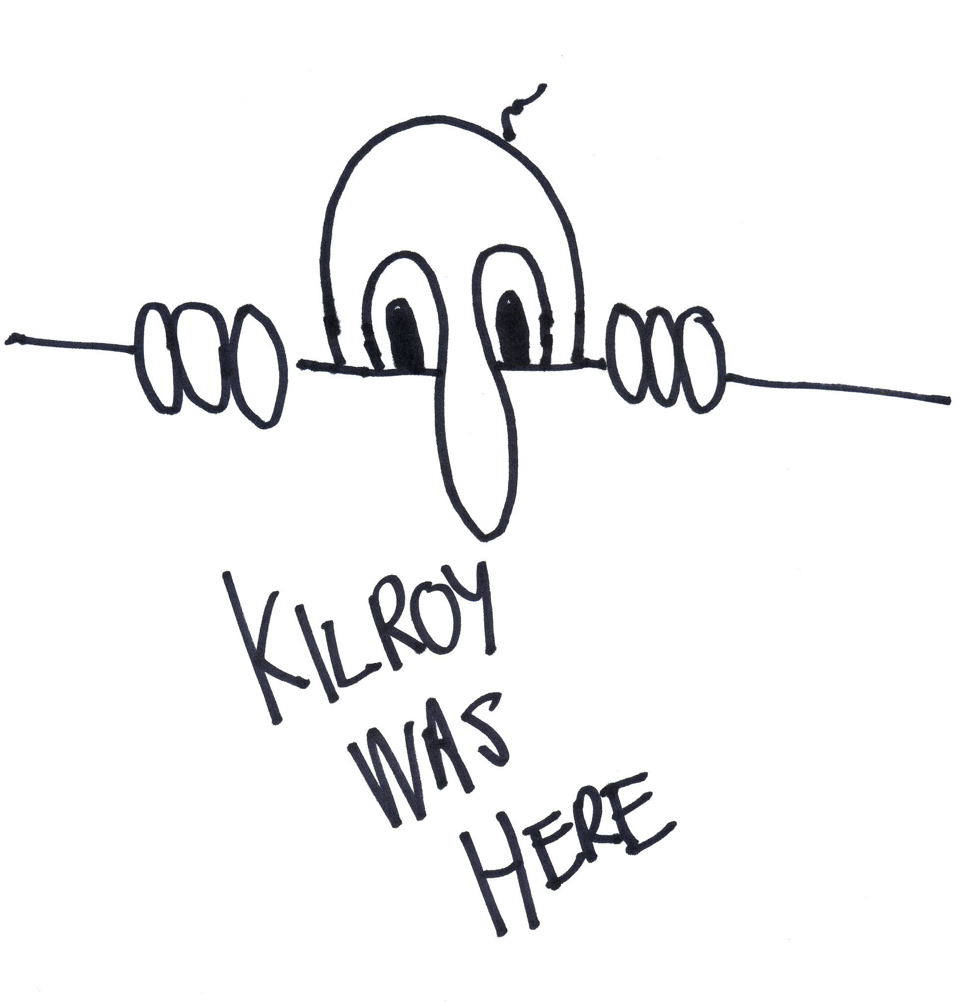 The origins of kilroy was here unproven during world war ii kilroy became a symbol of the presence of american gis and a smiling suggestion that he had gotten there first buycottarizona Gallery