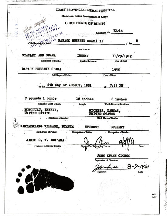 Questions about barack obamas status as a natural born citizen yadclub Images