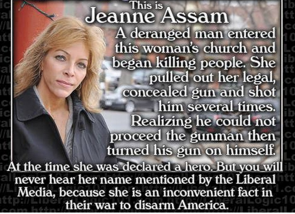 Jeanne Assam: The Forgotten Woman Who Stopped a Church Shooting
