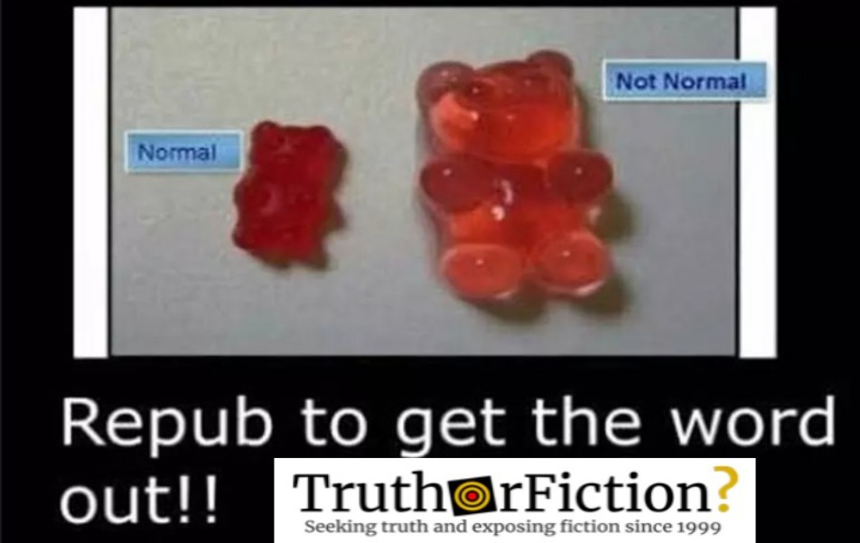'There is a New Drug on the Street in the Form of a Gummi Bear'