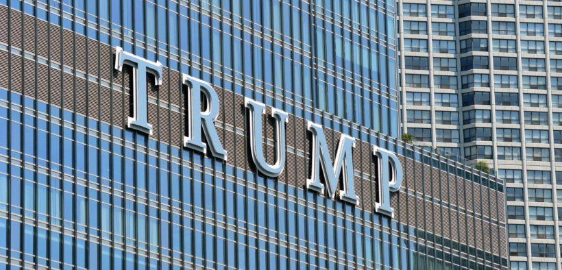 Trump Tower edifice.