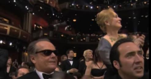 Streep Polanski standing ovation