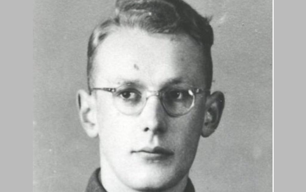 SS officer Oskar Gröning (or Groening.)
