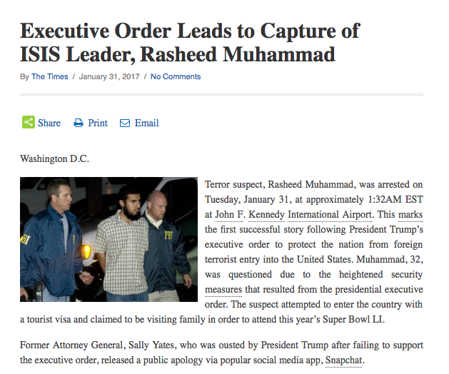 isis leader captured at JFK