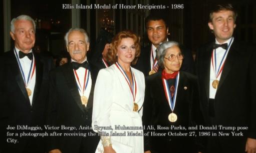 Trump Ellis Island Medal of Honor