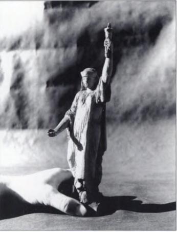 Statue of Liberty arab woman