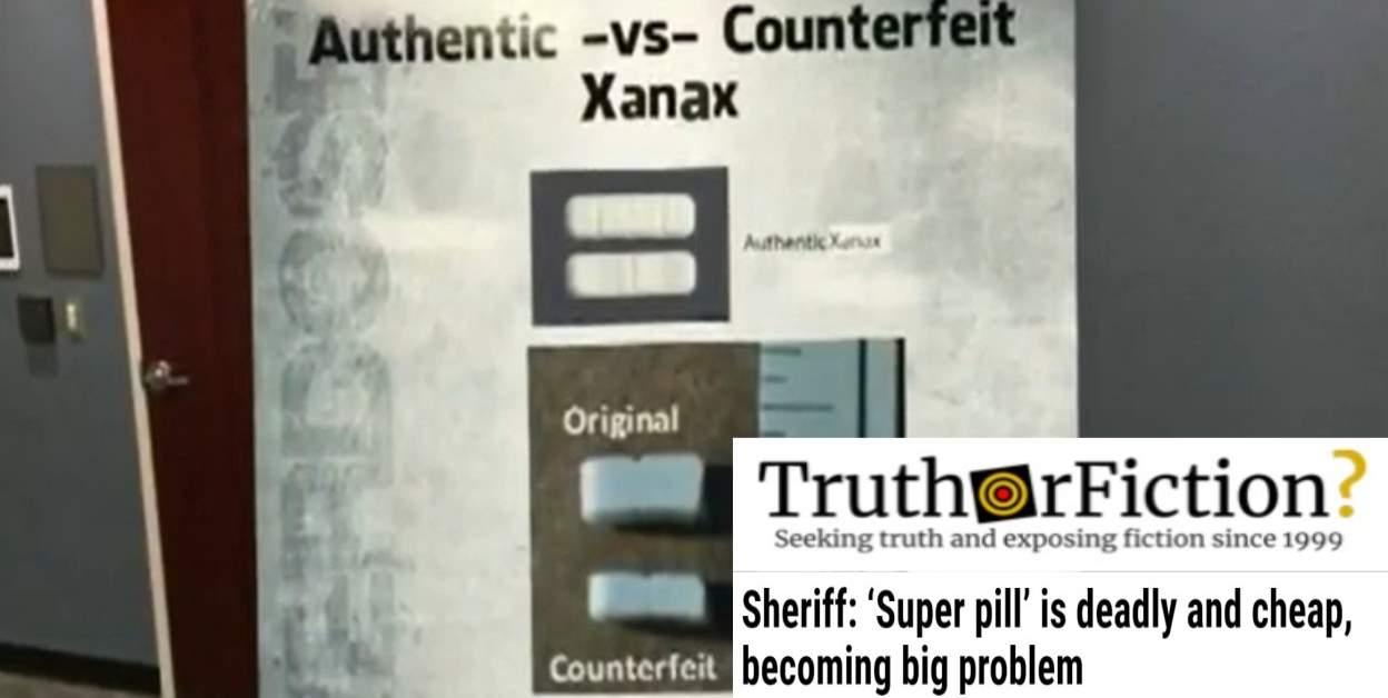 'Fake Xanax Pill Kills Nine in Florida'