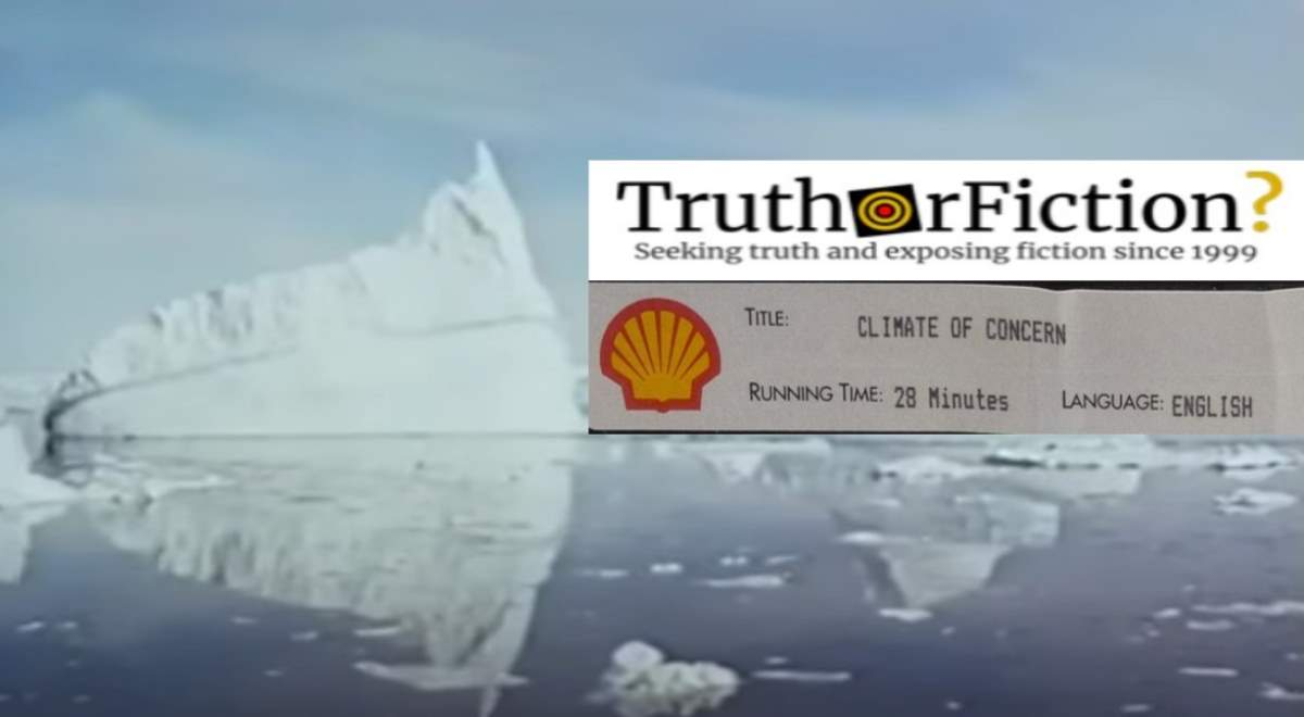Did Shell Release a Short Film About the Dangers of Global Warming?