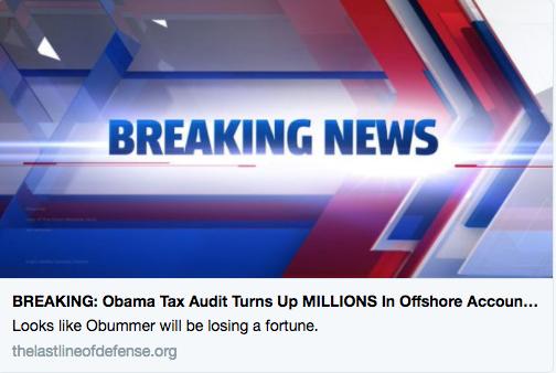 obama tax audit