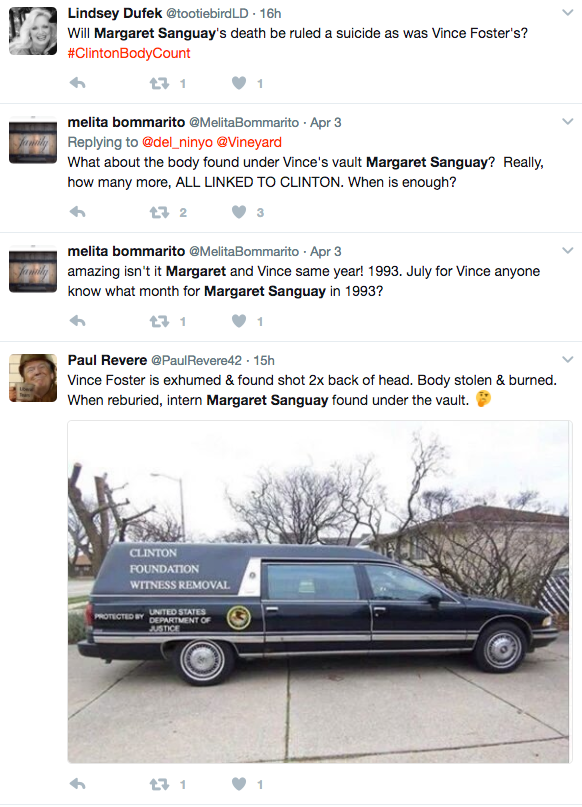 margaret sanguay