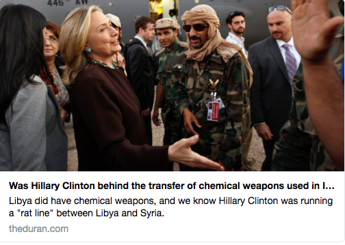 hillary clinton chemical weapons