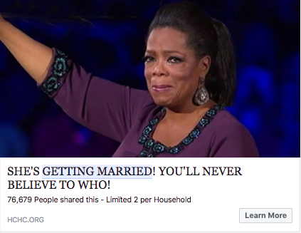 oprah getting married