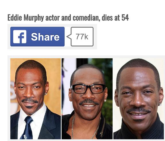 eddie murphy death