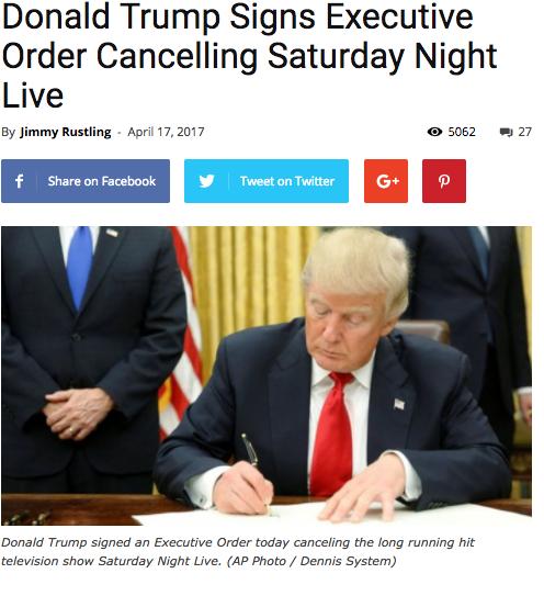 Saturday Night Live banned