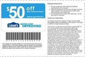 Lowes $50 or $100 Coupon for Mother's Day-Fiction!