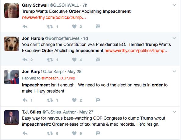 Trump Impeachment Order