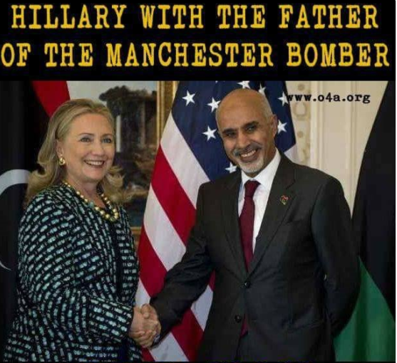 hillary clinton terrorist father