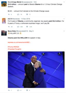 obama speeking fees