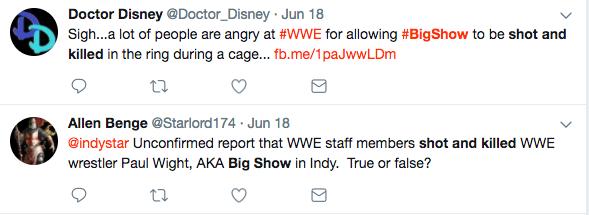 Big Show Shot and Killed