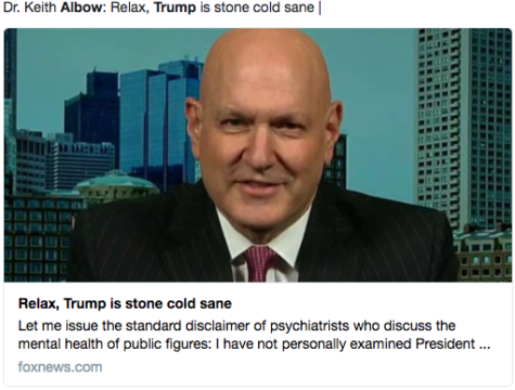 dr. keith albow on trump