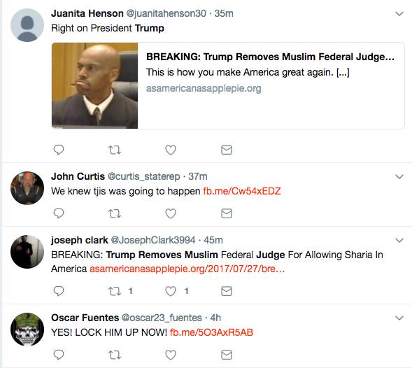 trump removes muslim judge