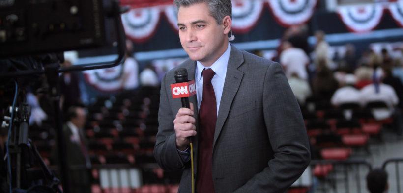 CNN reporter Jim Acosta.