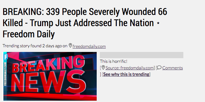 339 severely wounded, 66 dead
