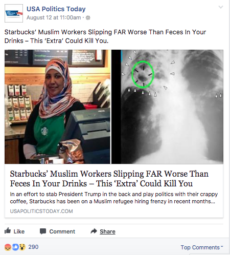 starbucks muslim employees