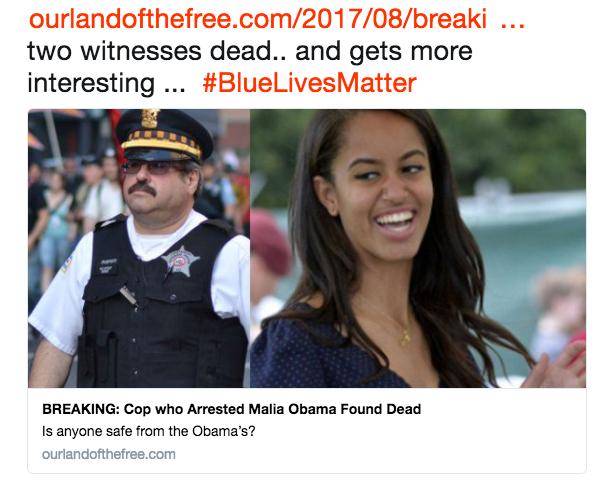 malia obama arrest hoax