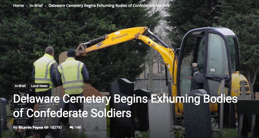 delaware cemetery confederate