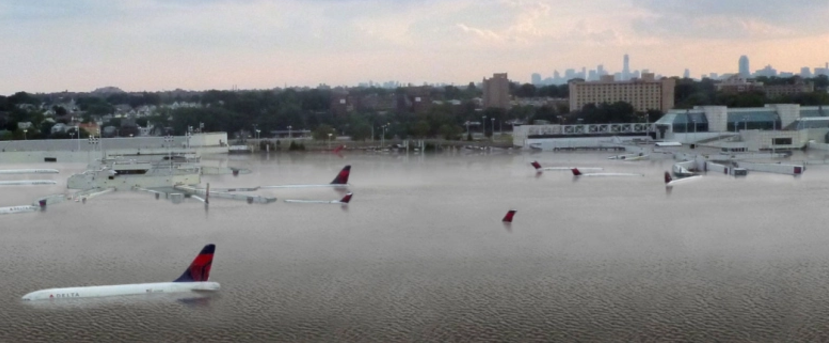 Houston airport flooding