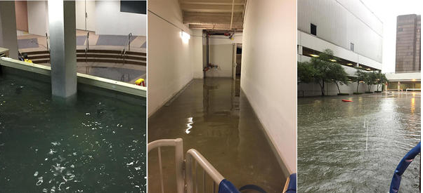Lakewood Church Flooding