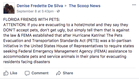 hotels natural disasters