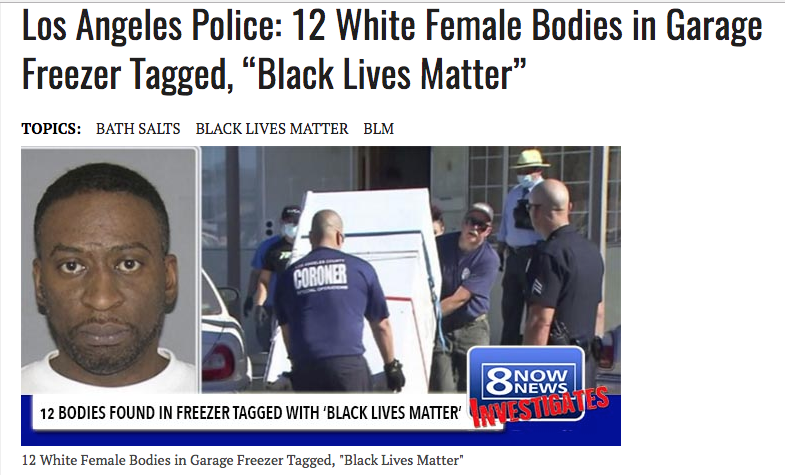 white female bodies black lives matter