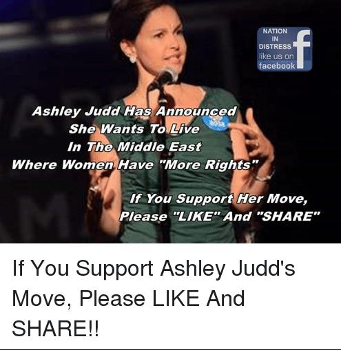 Ashley Judd women's rights