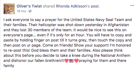 Prayer Request 30 Navy Seals
