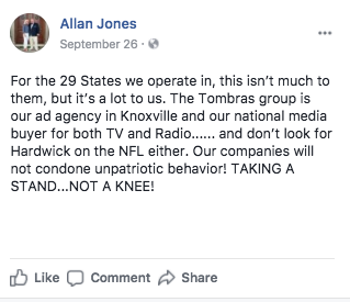 NFL loses first sponsor