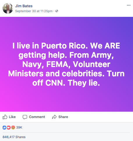 Jim Bates CNN is lying