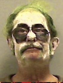 Creepty clown arrested