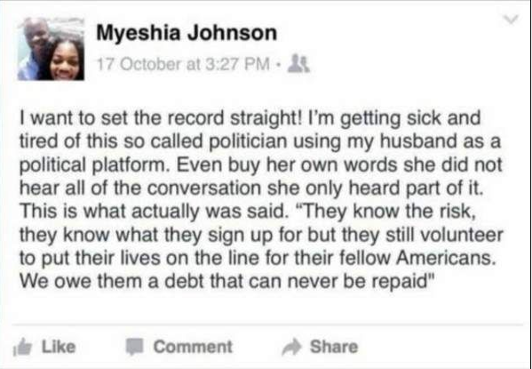 Myeshia Johnson
