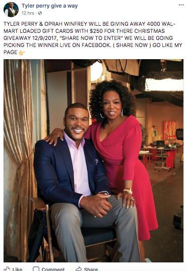 Oprah christmas giveaways
