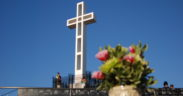 Mt. Soledad cross in La Jolla, California.