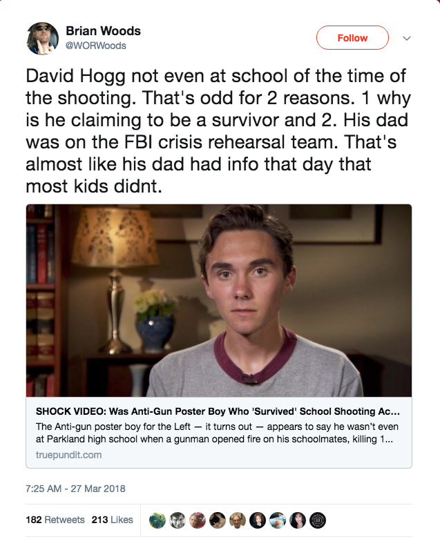 School Shooting Quotes: David Hogg Was At Home During Parkland School Shooting