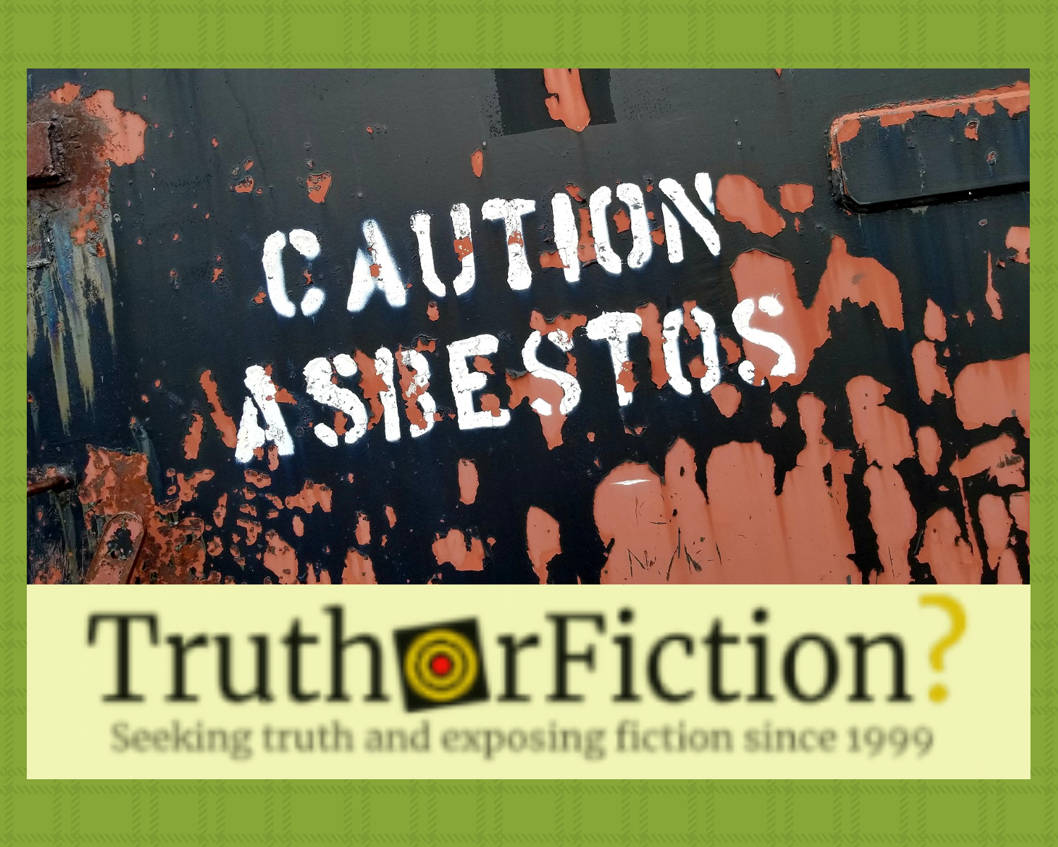 Did a Russian Mining Company Stamp Donald Trump's Face on New Asbestos Products?