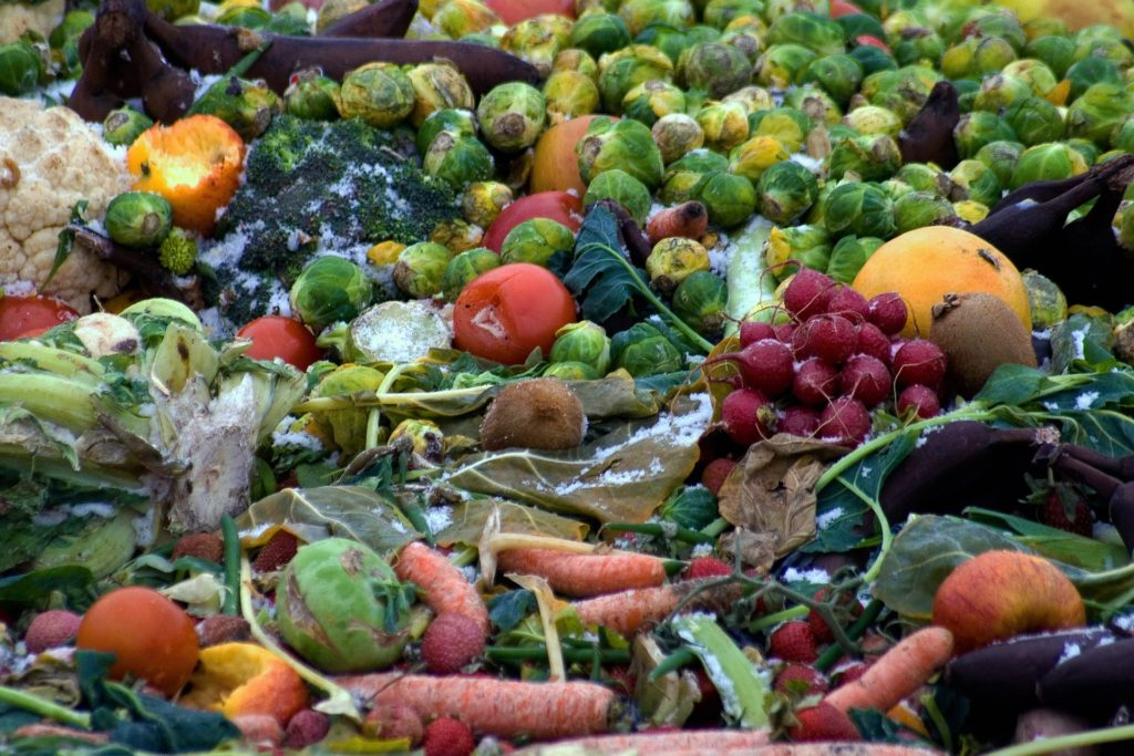 Rotting frozen vegetables.