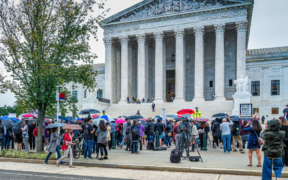 Supreme Court protest, September 27th, 2018,